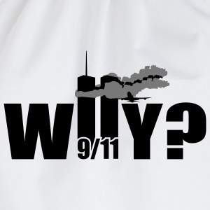WHY | NY | World Trade Center | 9/11 T-Shirts - Mochila saco
