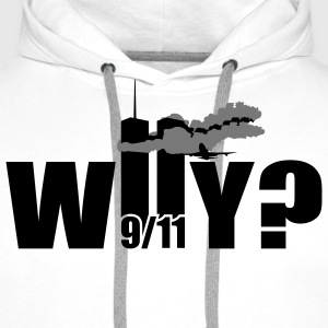 WHY | NY | World Trade Center | 9/11 T-Shirts - Men's Premium Hoodie