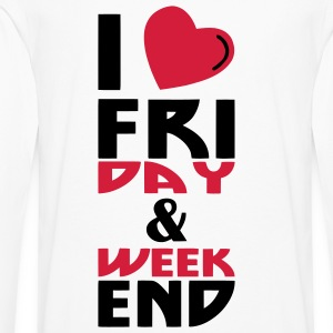 I love Week end (2c) - Men's Premium Longsleeve Shirt