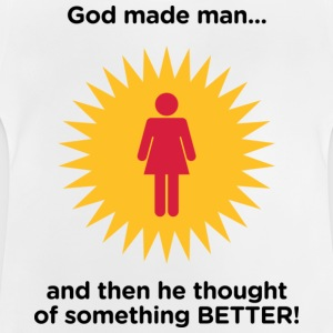 God Made Man 2 (dd)++ Barn-T-shirts - Baby-T-shirt