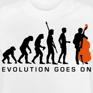 evolution_bass_2c_b Tee shirts Enfants - T-shirt Bébé