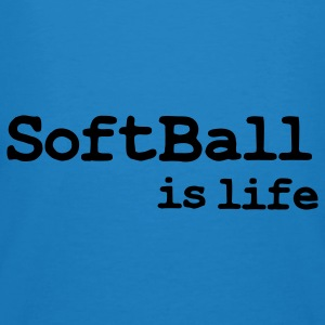 softball is life Borse - T-shirt ecologica da uomo