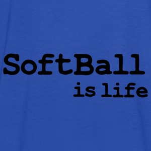 softball is life Tassen - Vrouwen tank top van Bella
