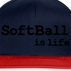 softball is life Sacs - Casquette snapback