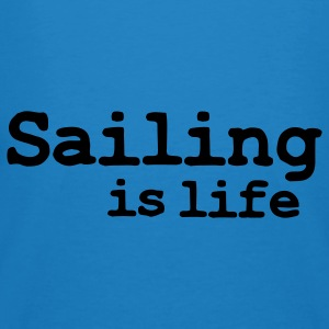 sailing is life Tassen - Mannen Bio-T-shirt