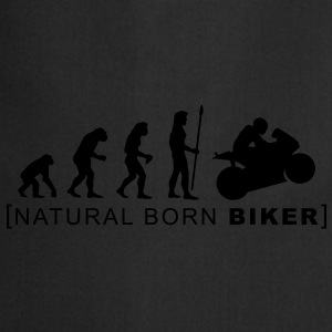 natural born biker T-Shirts - Cooking Apron