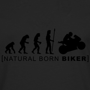 natural born biker T-Shirts - Men's Premium Longsleeve Shirt