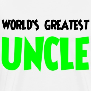 World's greatest uncle - Premium T-skjorte for menn