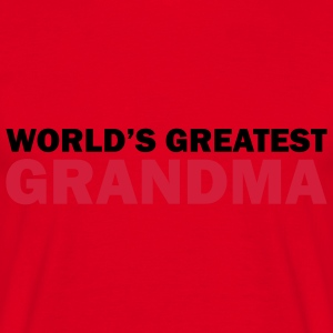 World's greatest grandma - T-skjorte for menn