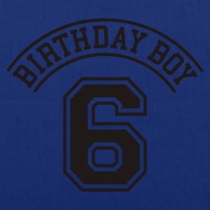 Birthday Boy 6 Kinder T-Shirts - Stoffbeutel