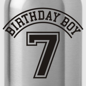 Birthday Boy 7 Kinder T-Shirts - Trinkflasche