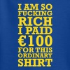 100 EURO VIP FUCKING RICH Kinder T-Shirts - Teenager T-Shirt