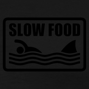 slow food - Premium-T-shirt herr