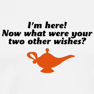 Your Two Other Wishes 2 (2c)++  Aprons - Men's Premium T-Shirt