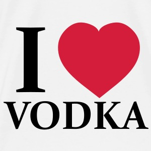 I Love Vodka Sacs - T-shirt Premium Homme