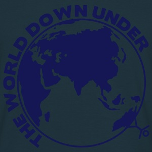 the world down under - Männer T-Shirt