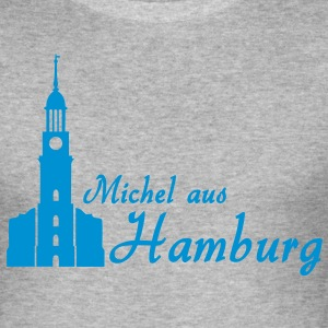 Hamburger Michel Pullover - Männer Slim Fit T-Shirt
