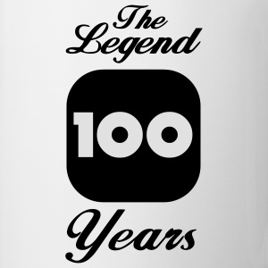 100 hundertster Geburtstag: The Legend 100 Years Langarmshirts - Tasse