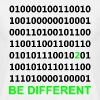 Be Different - Binary - Digital T-skjorter - T-skjorte for menn