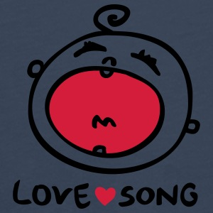 Lovely Love Song - Men's Premium Longsleeve Shirt
