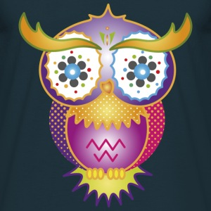 A psychedelic owl Hoodies & Sweatshirts - Men's T-Shirt