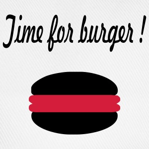 Time for burger - Baseballkappe