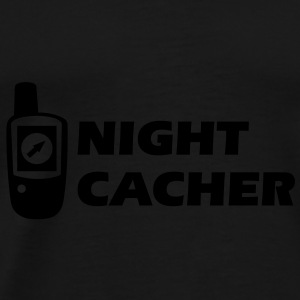 Geocaching GPS Night-Cacher Pullover - Männer Premium T-Shirt
