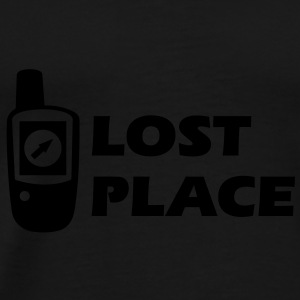 Geocaching GPS Lost Place Cache Pullover - Männer Premium T-Shirt