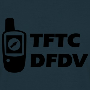 Geocaching GPS TFTC Thanks for the Cache DFDV Hoodies & Sweatshirts - Men's T-Shirt