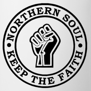 Northern Soul Keep the faith button badge - Mug
