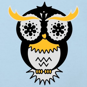 A psychedelic owl Accessories - Kids' Organic T-shirt