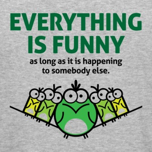 Everything Is Funny 2 (dd)++ Pullover - Männer Slim Fit T-Shirt