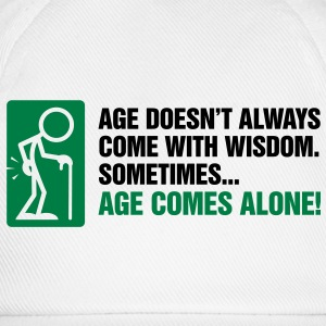 Age With Wisdom 3 (2c)++  Aprons - Baseball Cap