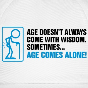 Age With Wisdom 2 (2c)++ T-Shirts - Baseball Cap