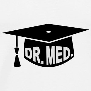 Graduation Party - PhD - Gift - Dr. med. Bags  - Men's Premium T-Shirt