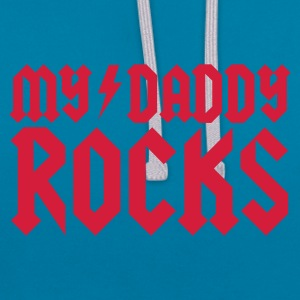 My Daddy Rocks Accessoires - Sweat-shirt contraste