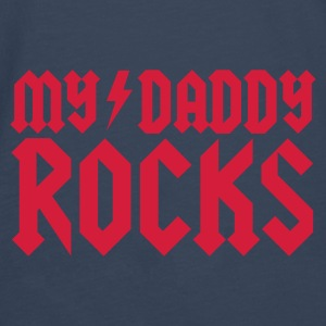 My Daddy Rocks Accessoires - T-shirt manches longues Premium Homme