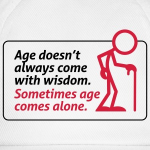 Age With Wisdom 1 (2c) Bags  - Baseball Cap