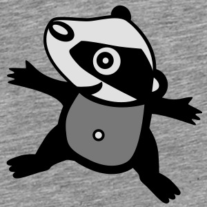 Badger Baby - Natur - Little Brother - Familie Accessories - Herre premium T-shirt
