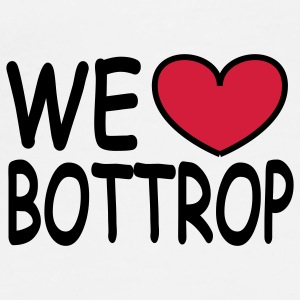 We ♥ Bottrop - Top - Männer Premium T-Shirt