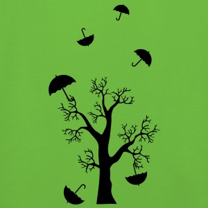 Umbrella in the tree - Autumn Wind - Illustration Bags  - Kids' Premium Hoodie