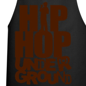 Hip hop underground silver - Cooking Apron