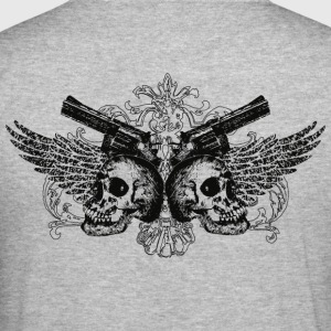 guns Pullover - Männer Slim Fit T-Shirt