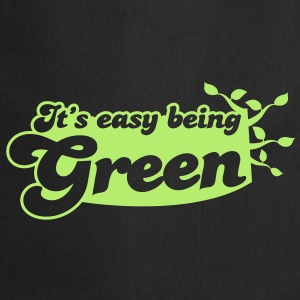 It's easy being green Bags  - Cooking Apron
