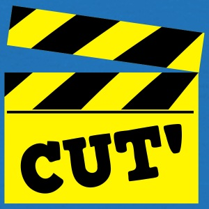 film cutting board cut! Bags  - Men's T-Shirt