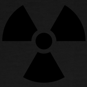 Radiation Sign (Vector) - Männer Premium T-Shirt