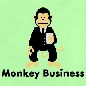 Monkey Business Kinder Pullover - Baby T-Shirt
