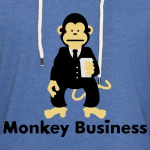 Monkey Business Babybody - Lätt luvtröja unisex