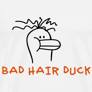 Bad Hair Duck Bodys Bébés - T-shirt Premium Homme