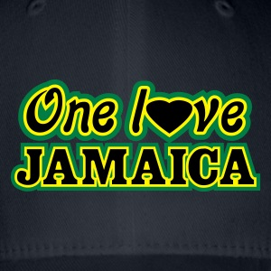 one love jamaica - Flexfit basebollkeps